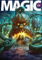 Magic CG magazine cover by eksrey