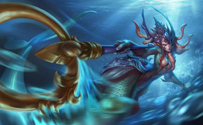 Nami the Tidecaller by eksrey