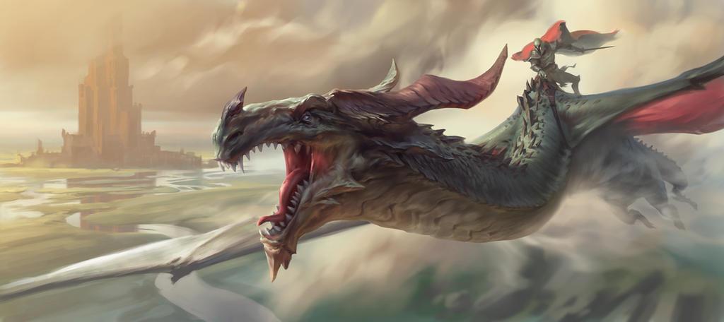 Dragon by eksrey