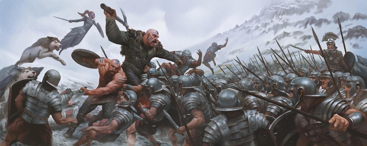 battle by eksrey