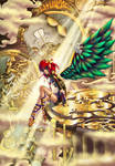 Steampunk Angel Coloration
