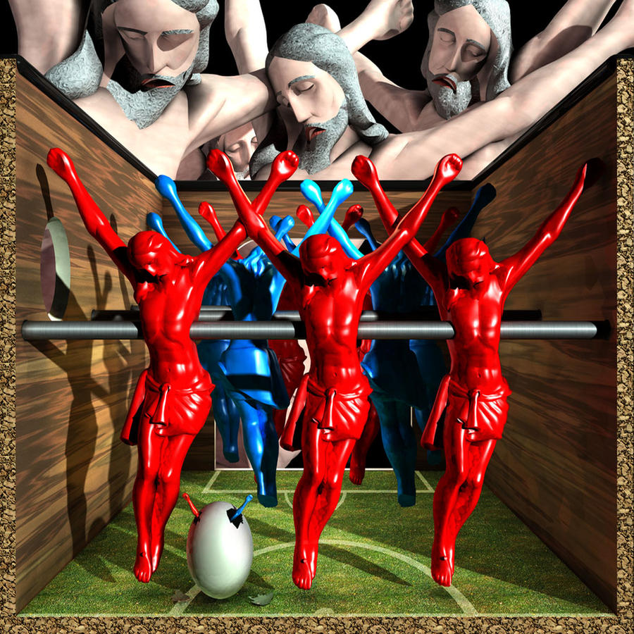 Ecce Homo 129 - THE GAME by Polygonist
