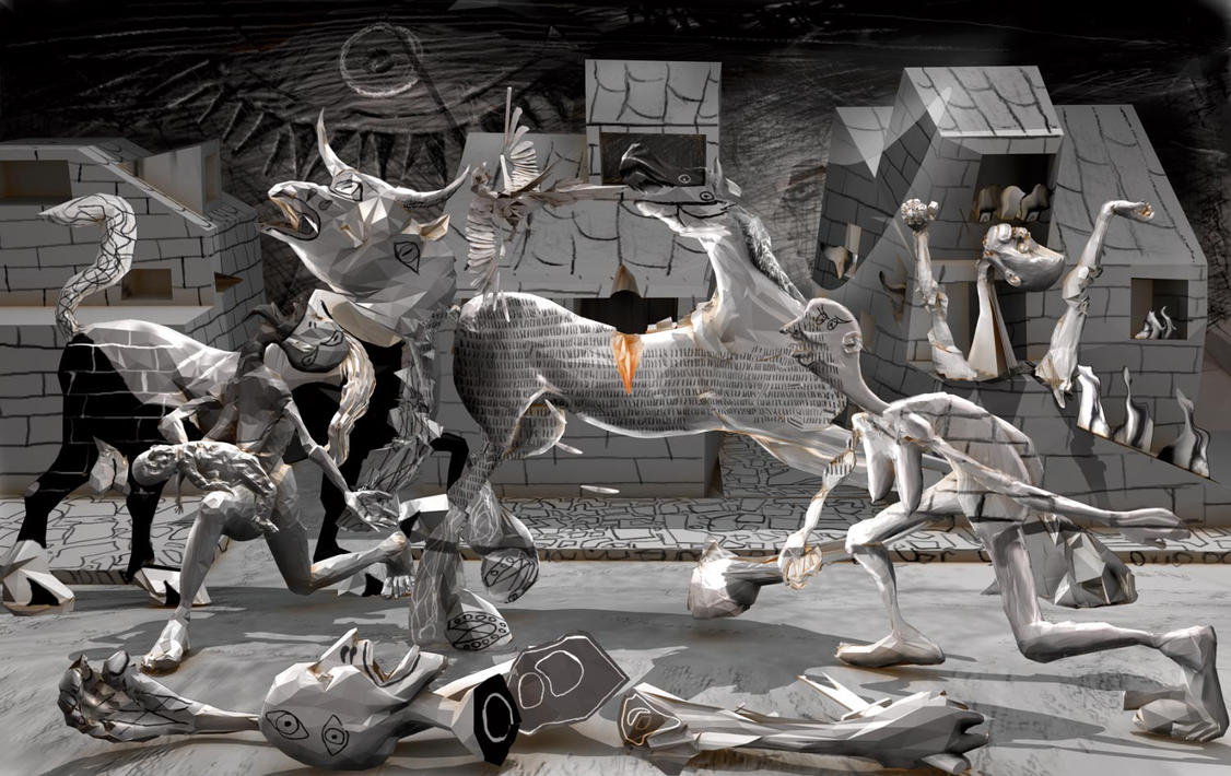 Guernica By Polygonist On DeviantArt