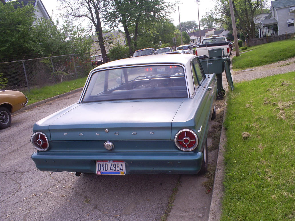 1965 Ford Falcon - Rear by