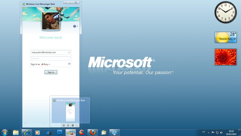 how to uninstall windows live messenger windows 7