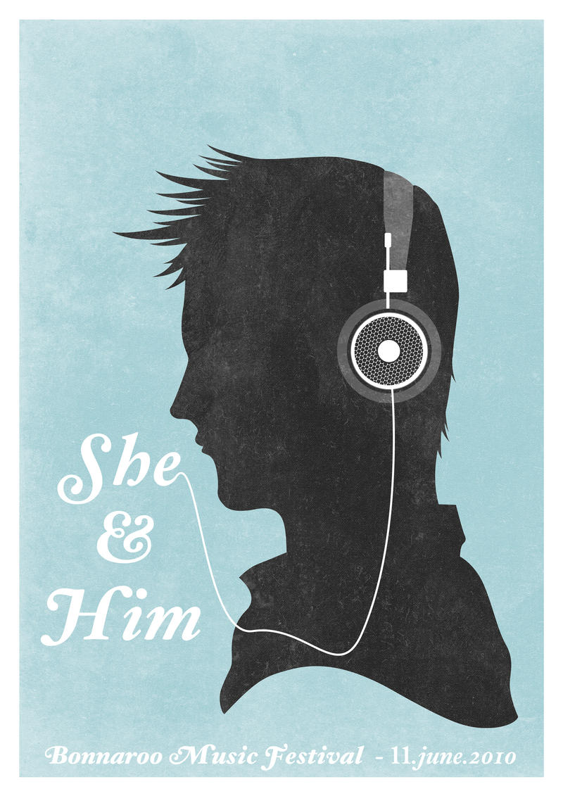 She and Him - 2 by Process-junkie