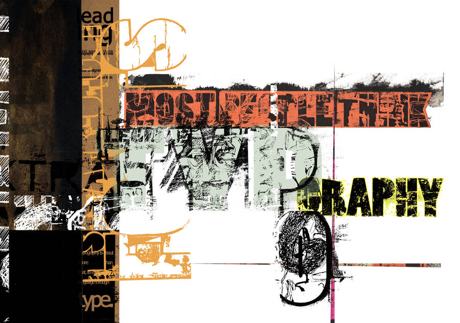 Typography by D-E-GraphXs