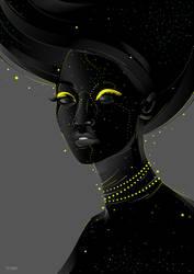 African Goddess by TyOdu