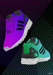 Adidas ZX Flux by TyOdu