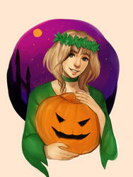 Everything began with the Halloween by Ten-Ketsu