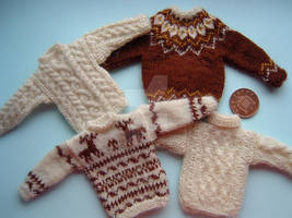 1:12th scale Mens Sweaters