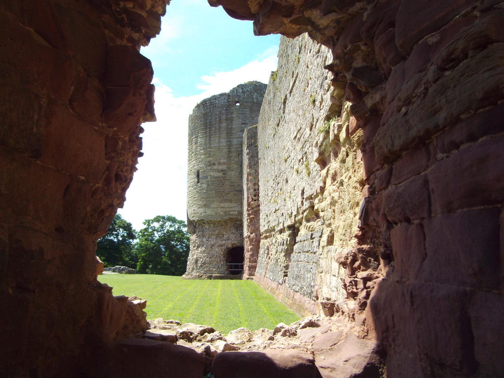 Rhuddlan castle, Wales by buttercupminiatures