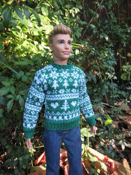 1:6th scale Nordic style sweater