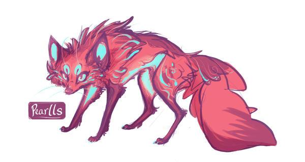 Fox Design by pearlls