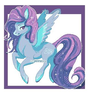 Pixel Pony by pearlls