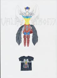 ShadeofShinon's contest : Valkhirom logo by Kamikam70