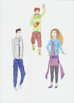 Zodiac! : Ricky/Ren/Mathilde