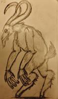 Demon Creature #1? by Thetoonwiz