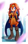 Mari-An the echidna by Alfa-Kronoxis
