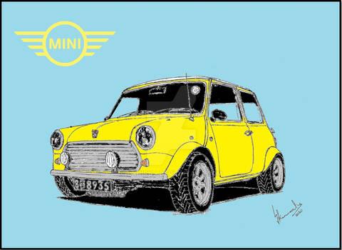 Rover Mini Digital Art