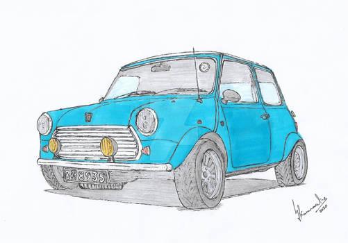 Pastel Blue Mini!