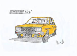 1979 Fiat 131 Mirafiori CL