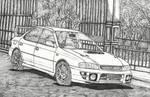 1995 Subaru Impreza by LahiruJ