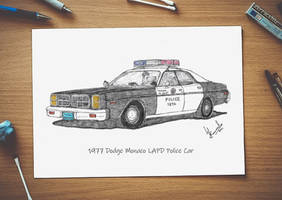 1977 Dodge Monaco LAPD Police Car