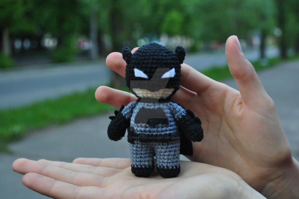 Batman   Crochet batman, Crochet dolls, Crochet patterns   681x1024