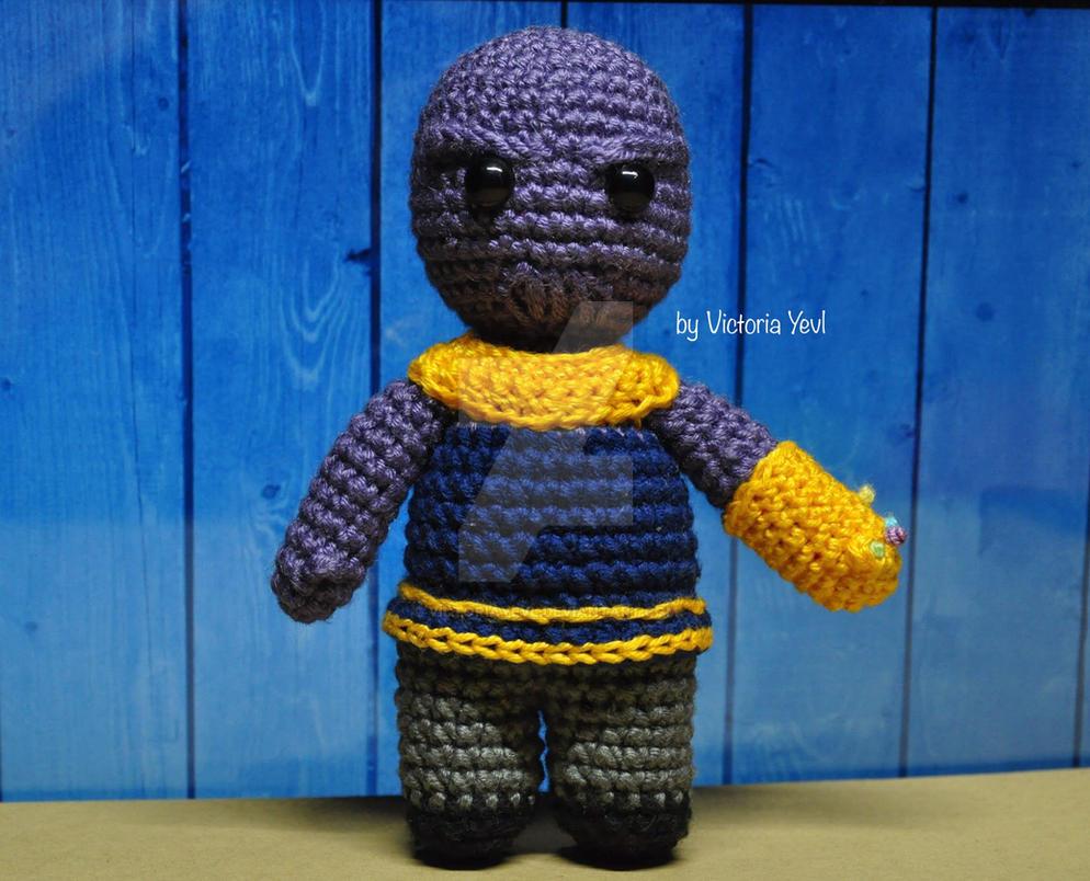 Thanos Crochet Amigurumi Avengers Infinity War By Victoriayevl On