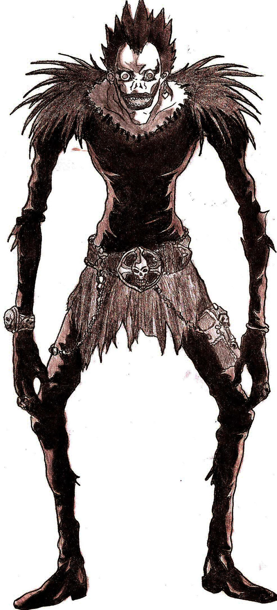 Death Note Shinigami: Ryuk by TH-SharOon on DeviantArt