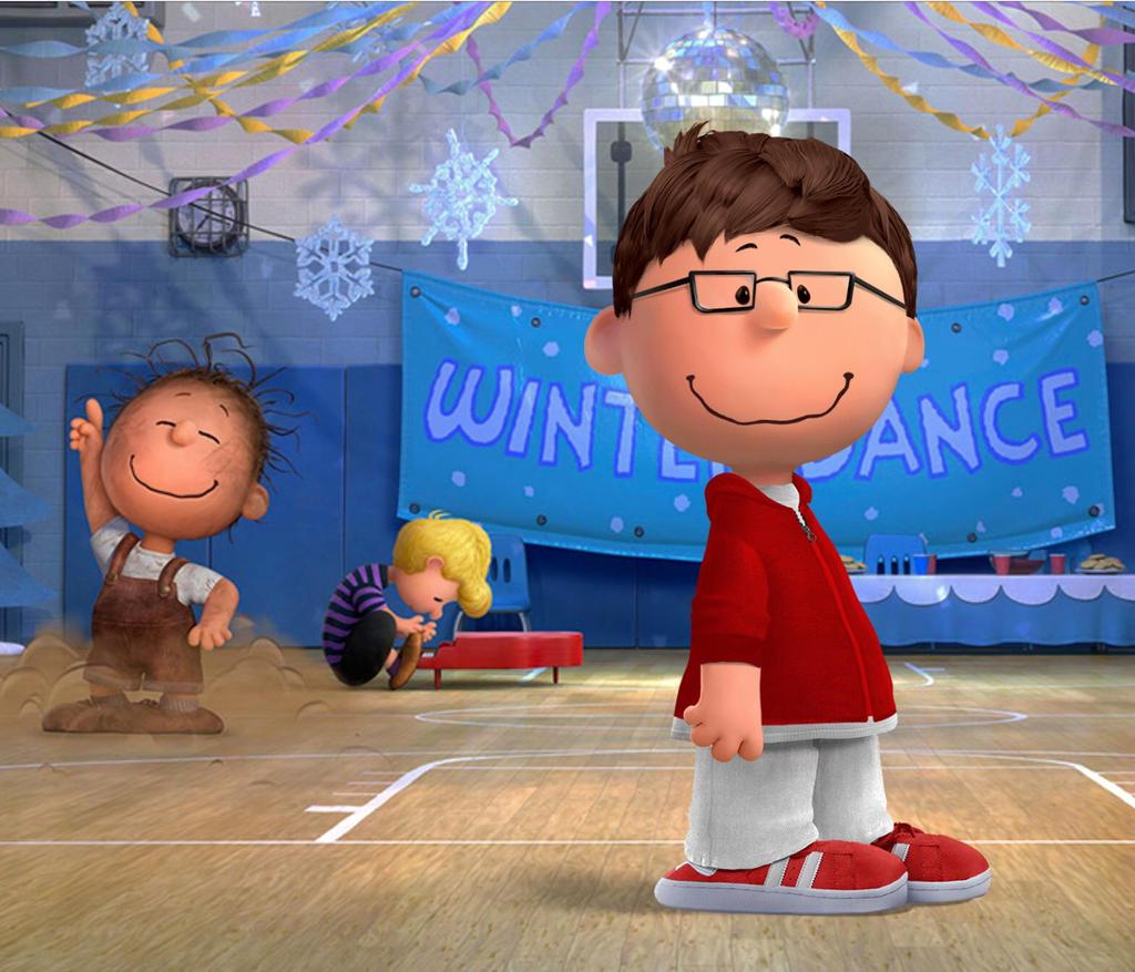It's a peanutised version of myself, Charlie Brown by JimmyTheNerd