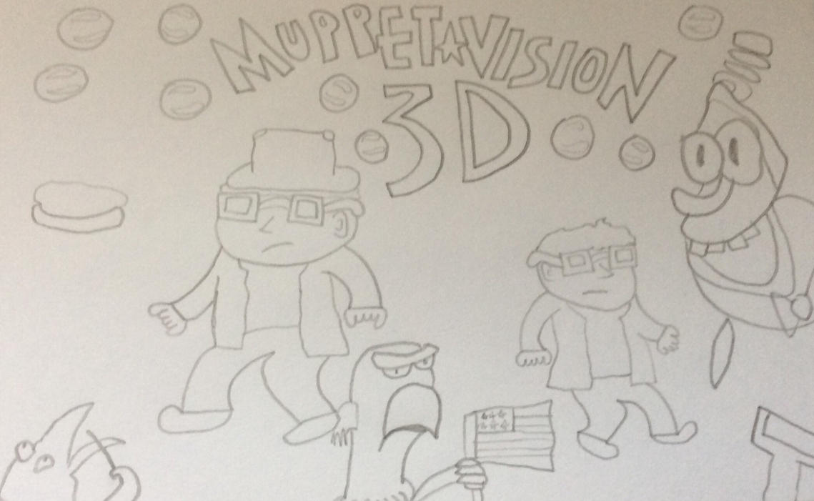 AniMat Crossover Review Idea: Muppet-Vision 3D by JimmyTheNerd