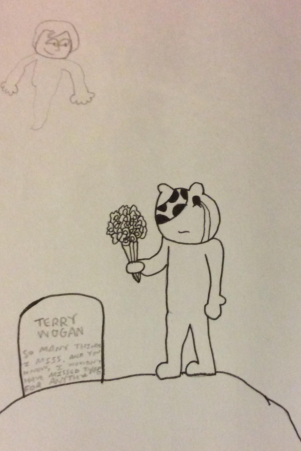 Pudsey's Paid Respects by JimmyTheNerd