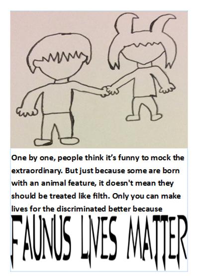 Faunus Lives Matter by JimmyTheNerd
