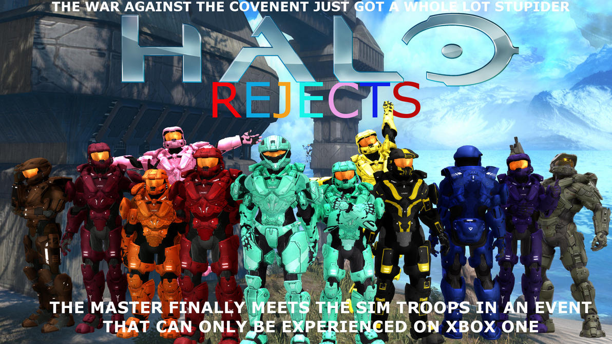 Halo Rejects (the poster) by JimmyTheNerd