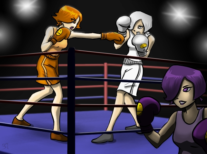 Triplicates Boxing by DarkJ3