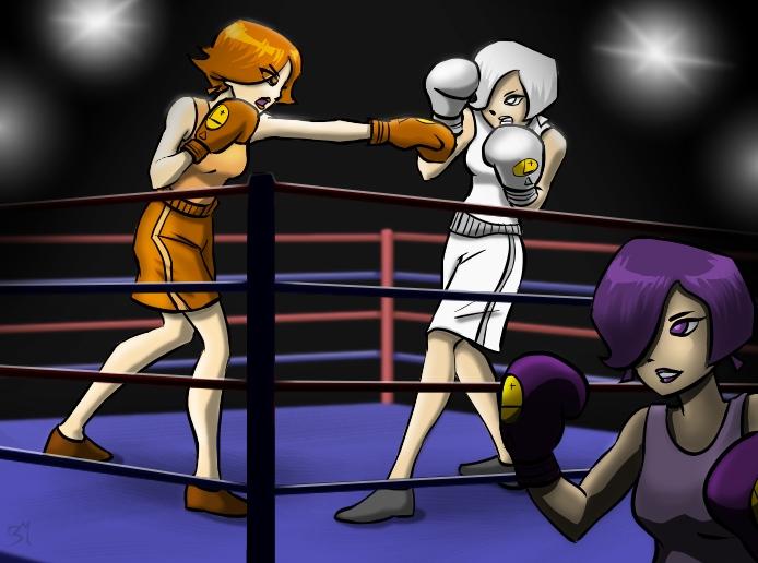 Triplicates Boxing by DarkJ3