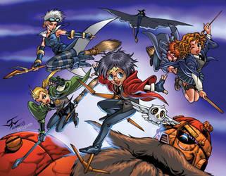 Harry Potter Manga by batangbatugan