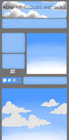 how to: clouds and skies