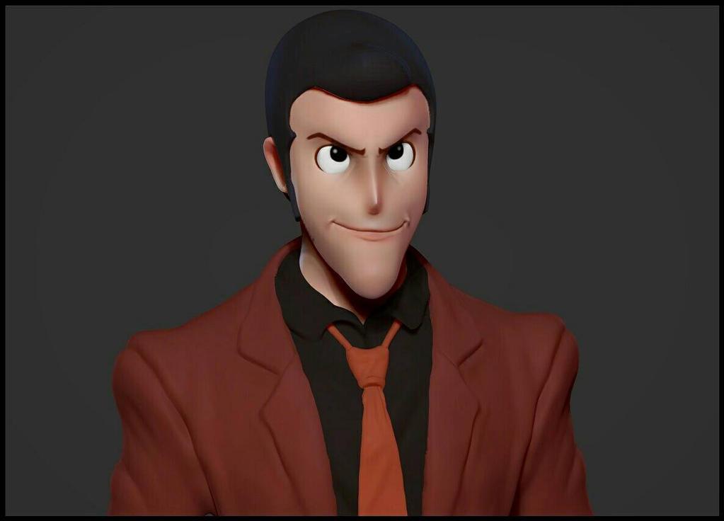 Lupin fanart - Doodle#11 by marakov