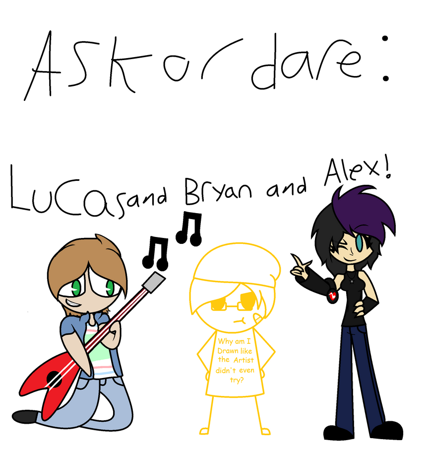 ASK LUCAS AND BRYAN AND ALEX by pikagirl3552