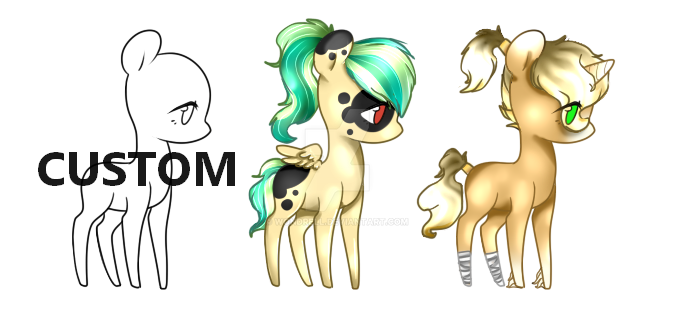 PONY ADOPT (OPEN) by Vhilinyar