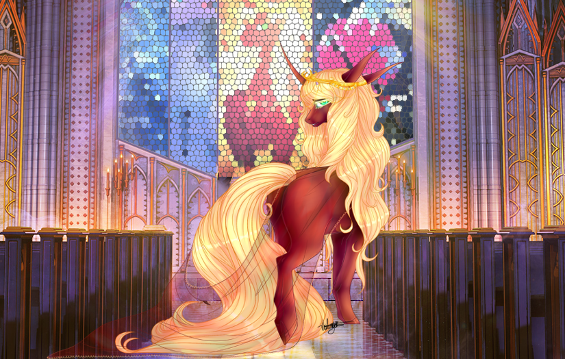 [COMM] I'm somepony. by Vhilinyar