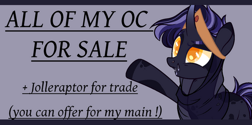 OC FOR SALE !