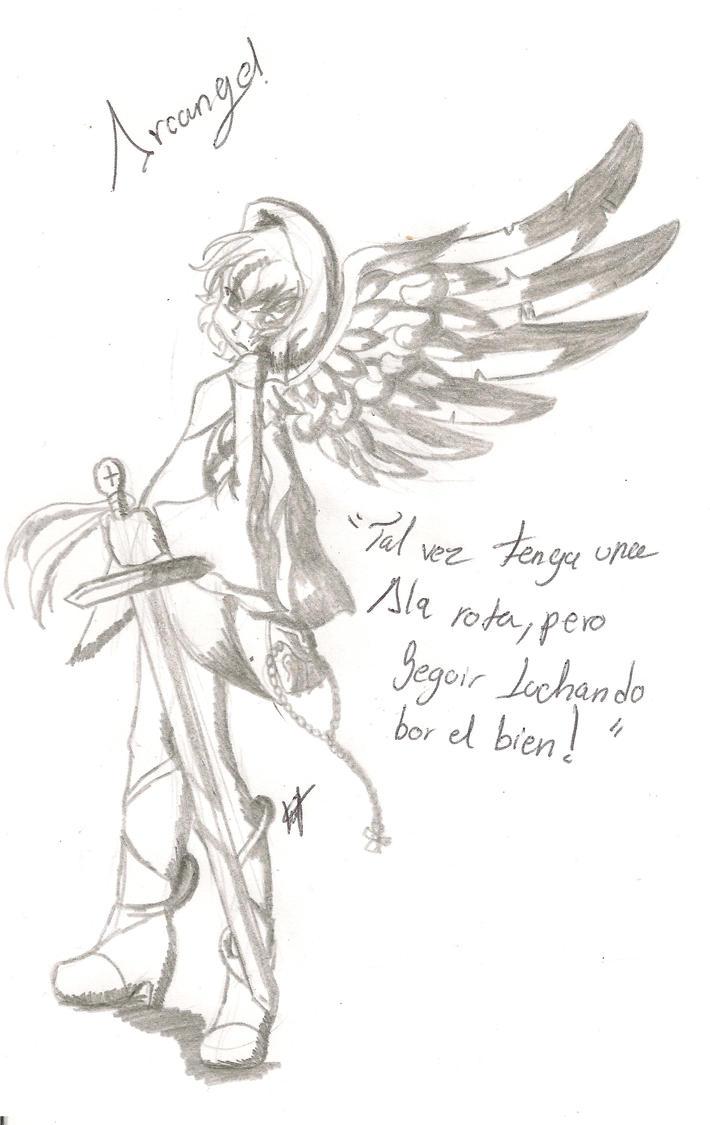 Arcangel Guerrera 001 by LTHVampiWolf
