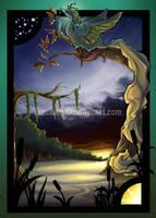 Swamp Phoenix by Tsuchan