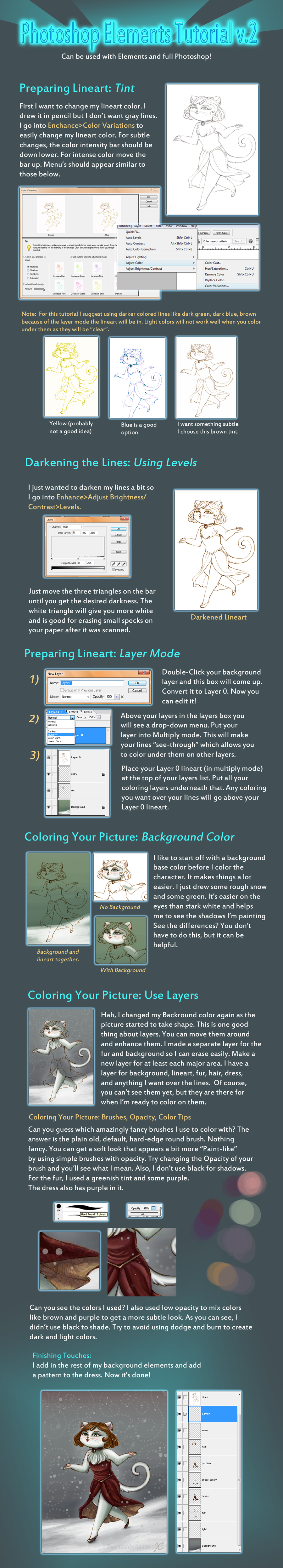 Photoshops Elements Tutorial 2 by Tsuchan