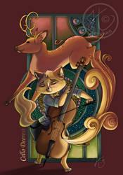 Cello Deerest by Tsuchan