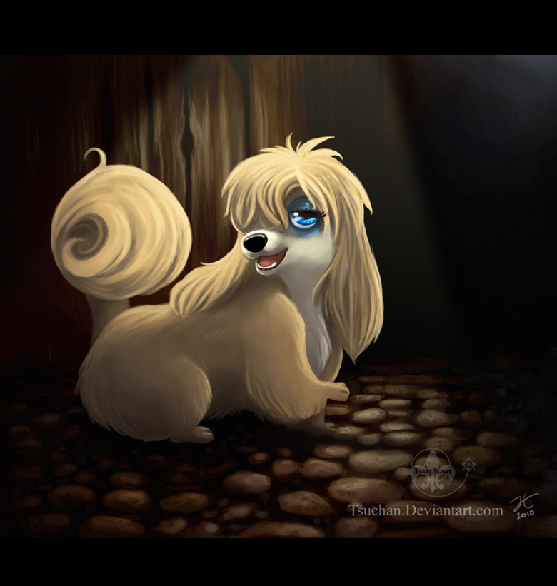 Peg From Lady And The Tramp By Tsuchan On Deviantart